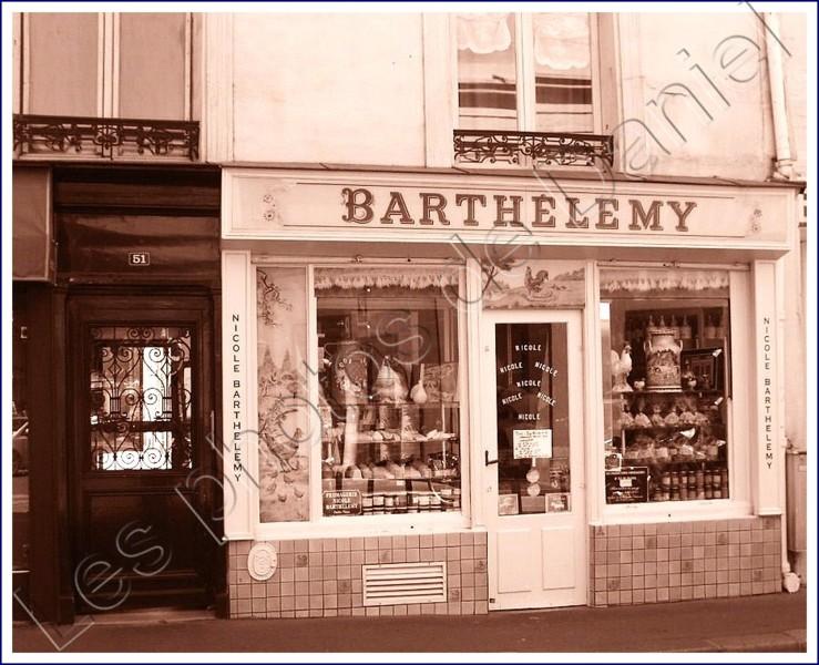 Un joli petit magasin... barthlmy