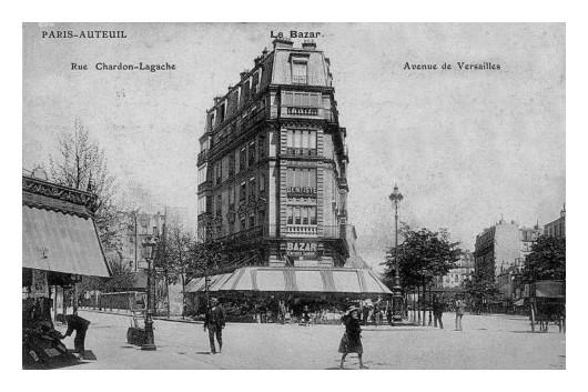 Paris d'hier et d'aujourd'hui (83). Angle-Chardon-Lagache