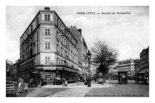 Paris d'hier et d'aujourd'hui (82). Angle-Boileau