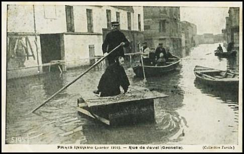 Janvier 1910, à Grenelle... Grenelle-1910