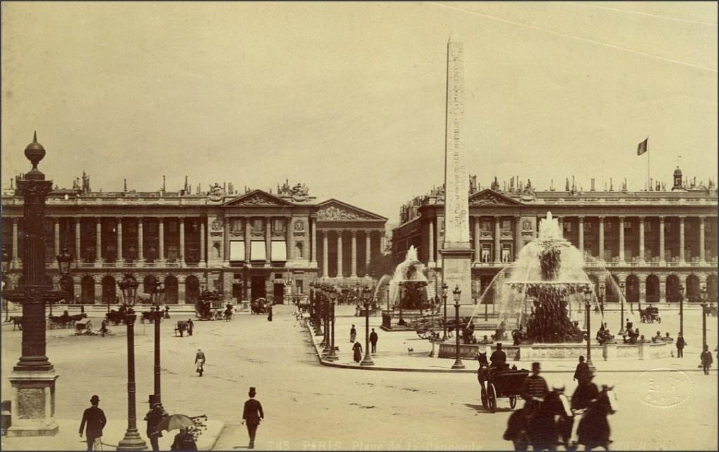 La place de la Concorde en 1880... 1880-3