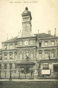 L'ancienne Mairie du 17ème Arrrondissement...