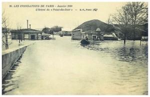 Toujours lors de la grande inondation de 1910...