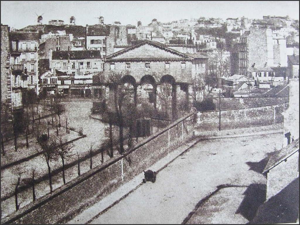 La Barrière de Clichy en 1859... barriere-en-1859-et-mur-fg-pris-depuis-le-bd-des-batignolles