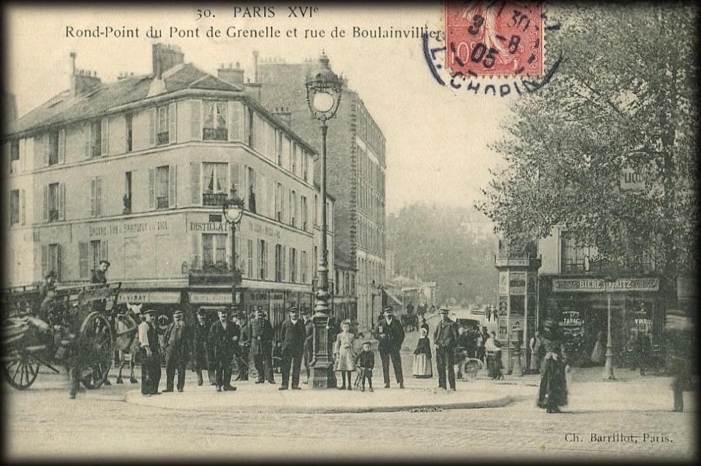Paris d'hier et d'aujourd'hui...(88) dans Paris d'hier et d'aujourd'hui boulainvilliers-1909