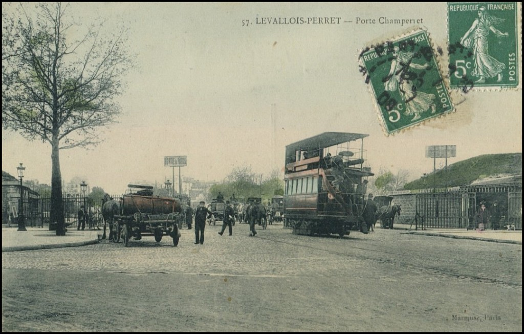 La Porte de Champerret... porte-champerret