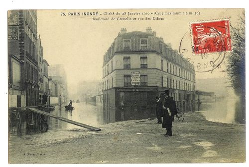 Retour sur la grande inondation de janvier 1910... rue-des-usines-1