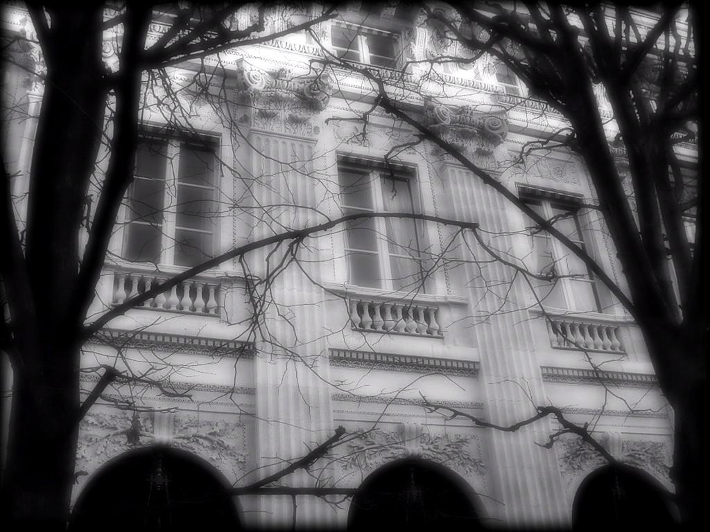 Une facade du Palais-Royal... snb18568