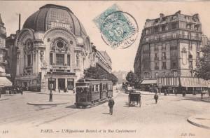 Boulevard de Clichy, 1905.