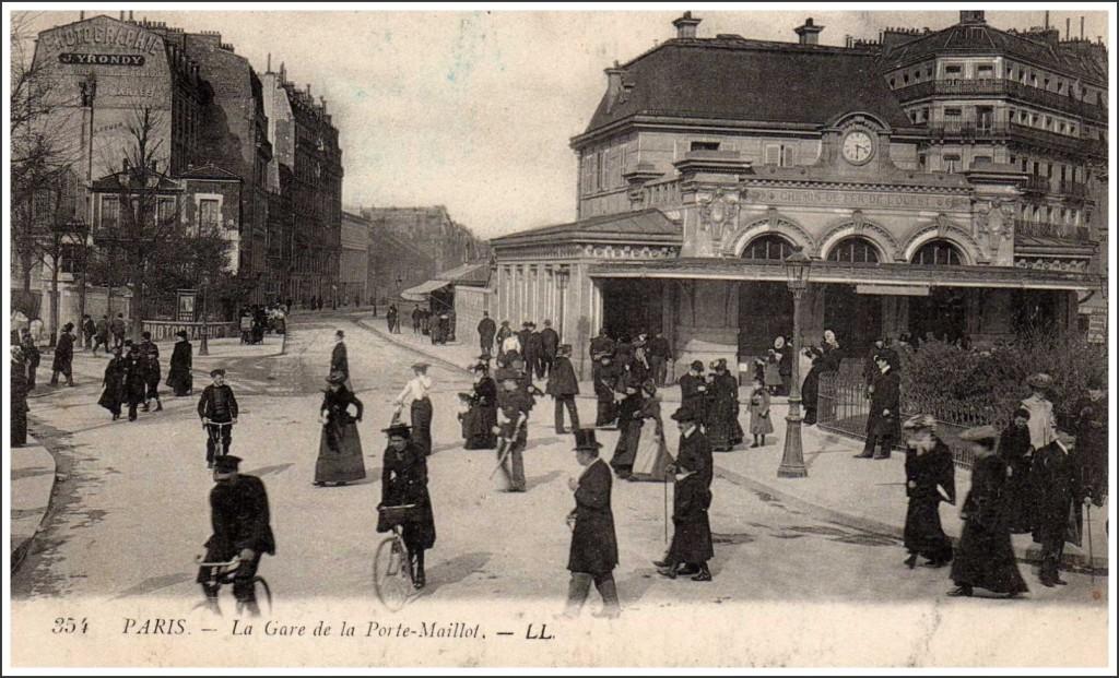 Toujours à la Porte-Maillot... 3heures-et-demie