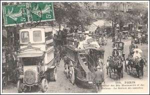 Carrefour Bd Montmartre 1909