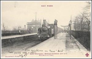 La garde d'Orléans-Ceinture en 1907...