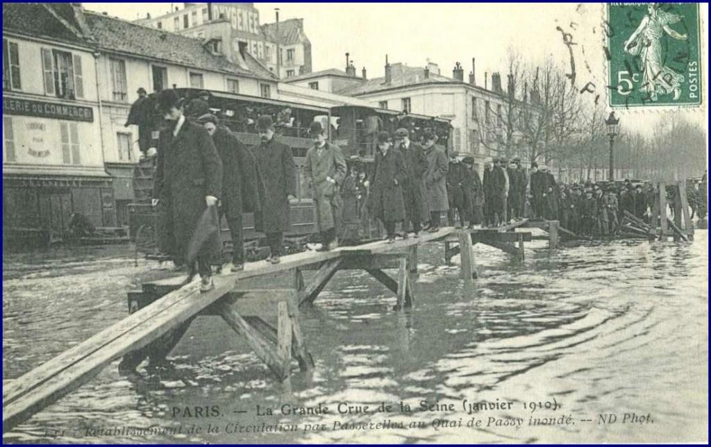 Quai de Passy en janvier 1910... nov14590