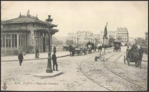 La gare du pont de Grenelle.