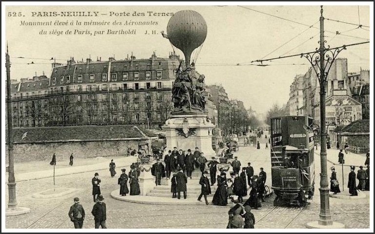Le monument (disparu) de la Porte-des-Ternes... pdt