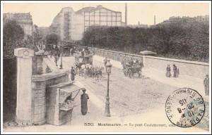 Le Pont Caulaincourt en 1905