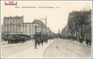 La Porte d'Orléans.