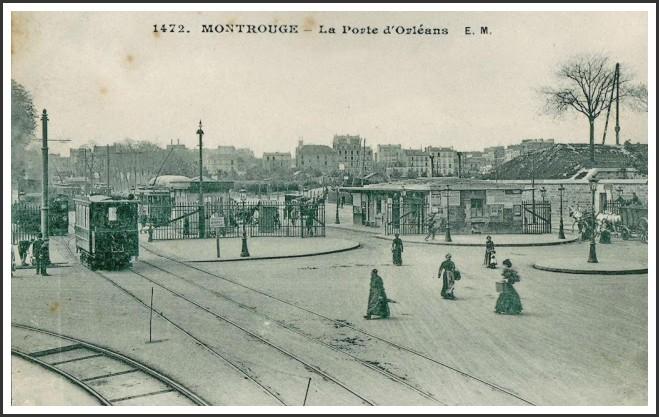Trois vues de la Porte d'Orléans... porte-dorleans