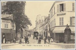 La rue de Javel vers 1905…