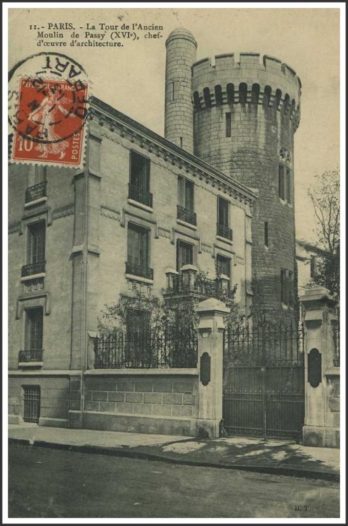 La curieuse tour de la rue de la Tour (16ème).... rue-de-la-tour-1913