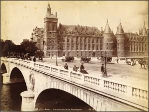 La Conciergerie vers 1880...