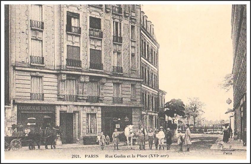 Paris d'hier et d'aujourd'hui (89). dans Paris d'hier et d'aujourd'hui 1917