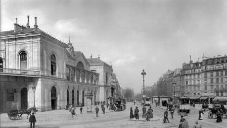 L'ancienne gare Montparnasse... gare-montparnasse-1900