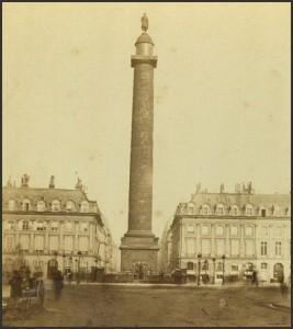 La Colonne Vendôme dans les années 1880.