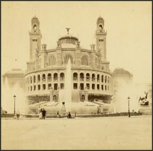 Le Palais du Trocadéro...