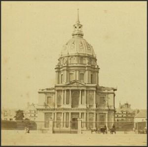 Le dôme des Invalides vers 1880.