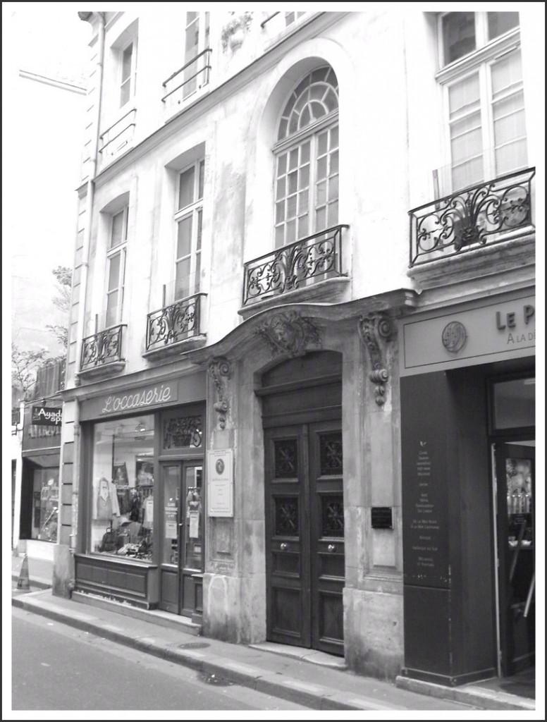 Passy, au n°21 de la rue de l'Annonciation... snb10011