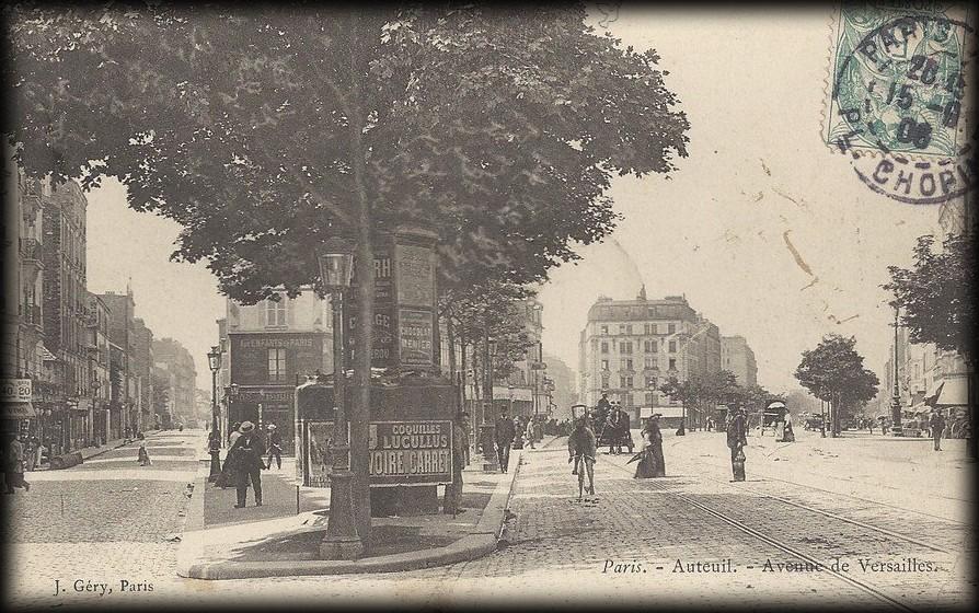Deux vues de l'avenue de Versailles... 179097_323487134404436_259346053_n