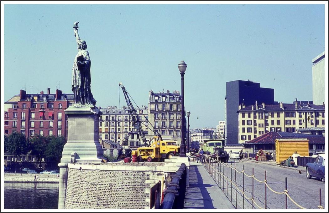 Autour du Pont de Grenelle... 1967