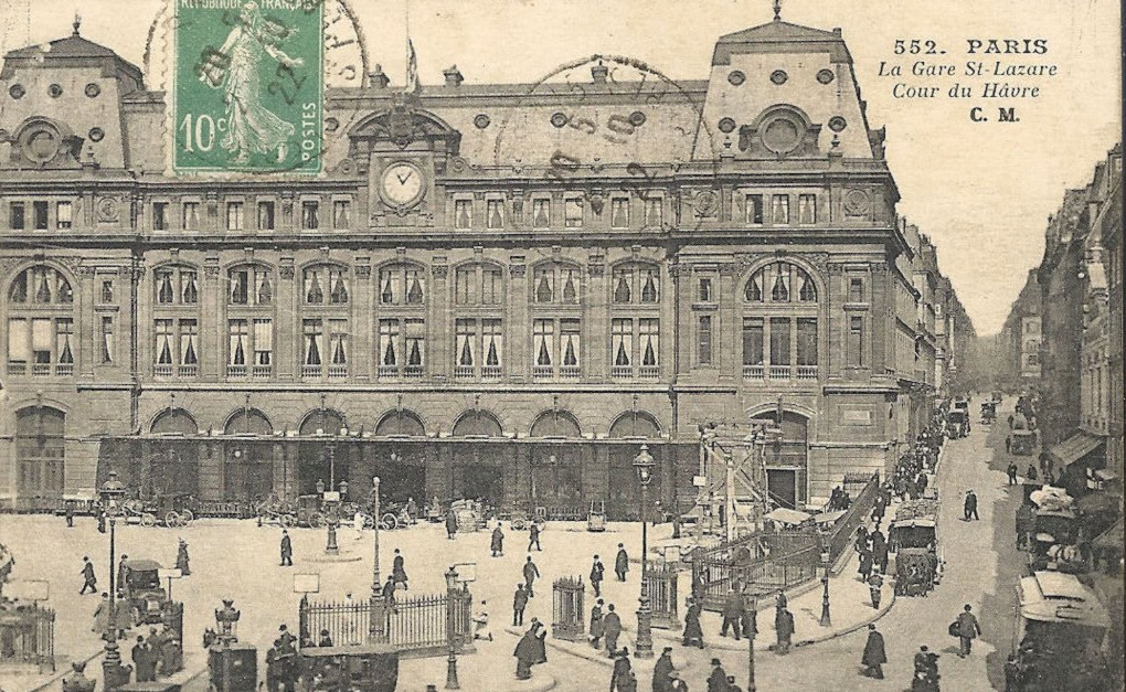A propos des grilles de la Gare Saint-Lazare... cour-du-havre