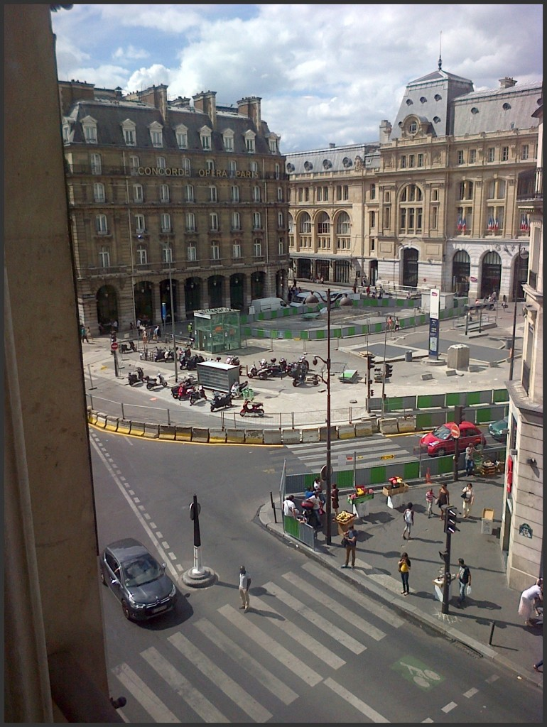 Une vue de la Gare Saint-Lazare... img-20130806-00229