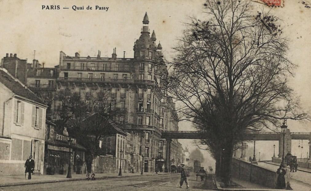 Deux vues assez rares du Quai de Passy (16ème). rare1