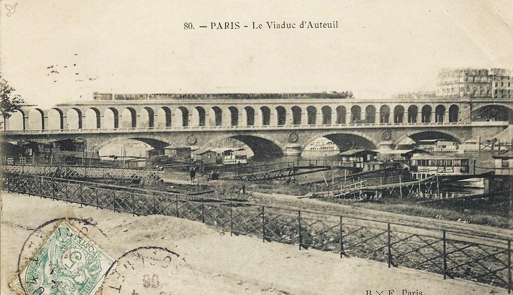 Encore le Viaduc d'Auteuil... via1