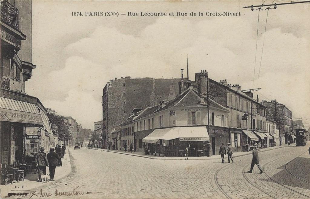 Un coin du 15ème arrondissement... Complément. lecourbe2