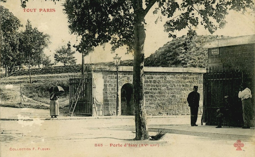 Portes d'Issy, de Versailles et de Vanves. Complément. porte-dissy