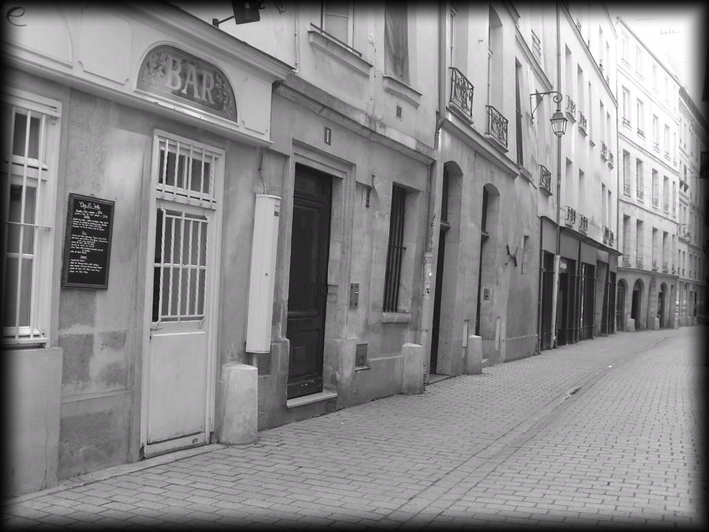 Une rue du vieux Paris... snb19917
