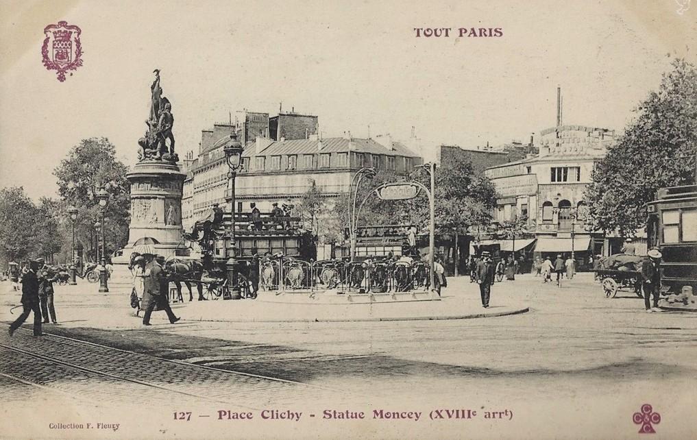 Trois nouvelles vues de la Place de Clichy... tp-127