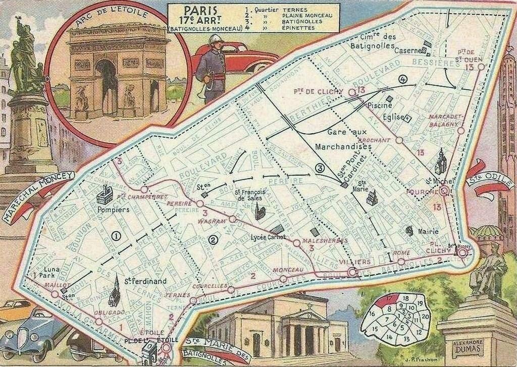 Regard sur le dix-septième arrondissement... p17-1946