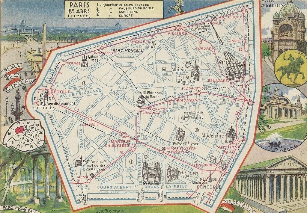 Un coup d'œil sur le huitième arrondissement... plan-8-1946