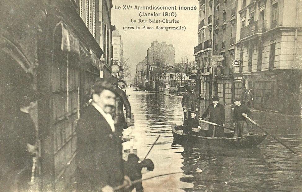 La rue Saint-Charles inondée (janvier 1910)-2. beaugrenelle