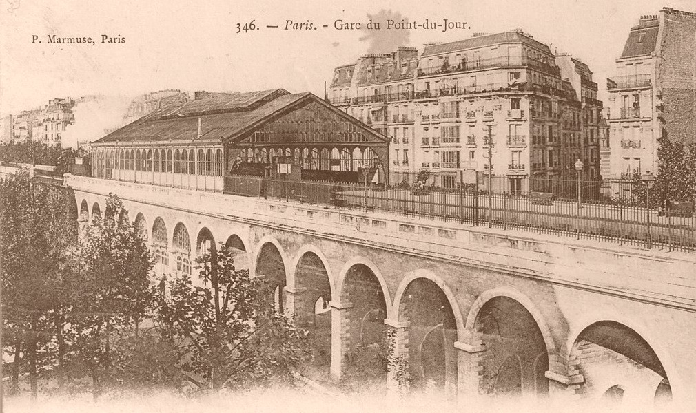 La Gare du Point-du-Jour... gare