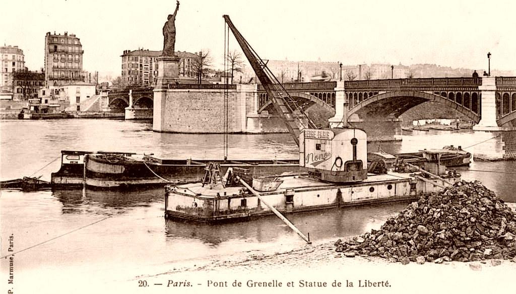 Pont de Grenelle. Deux vues complémentaires... pont-gre1