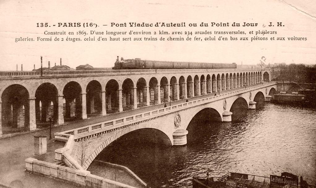 Autour du viaduc d'Auteuil... viaduc