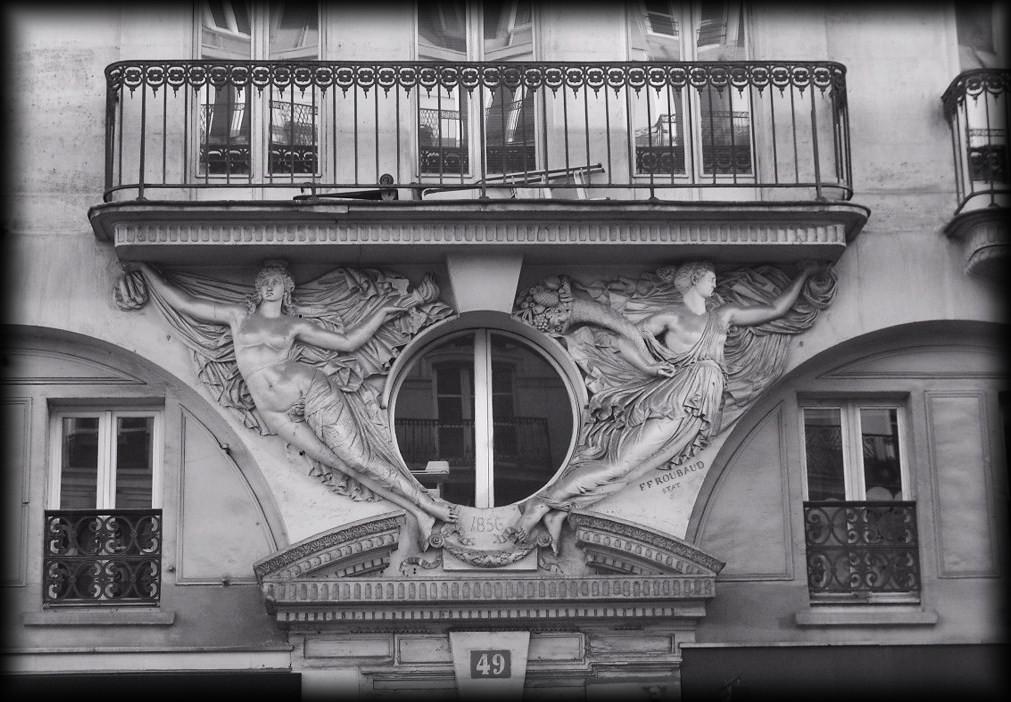 Au 49, rue de Rivoli (Paris 1er)... snb19869