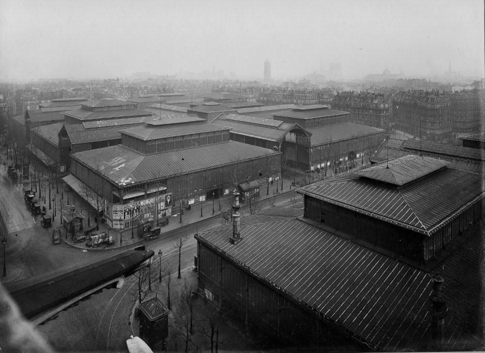 Les Halles... vers-1930