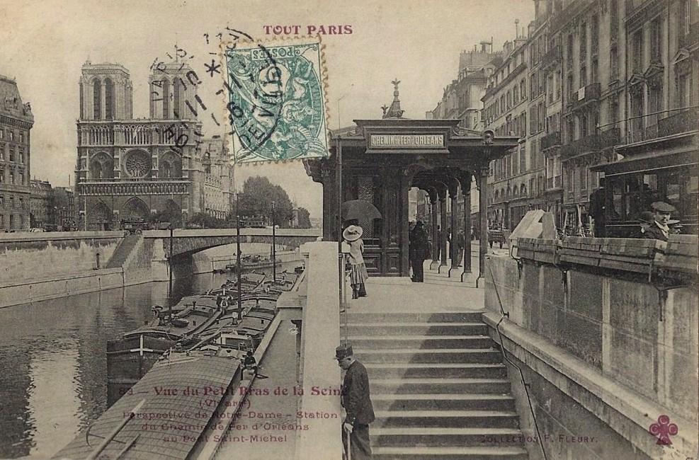 Sur le quai Saint-Michel (5ème). 1324240155-tp-83